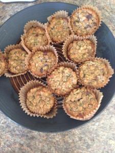 Zuchinni muffins